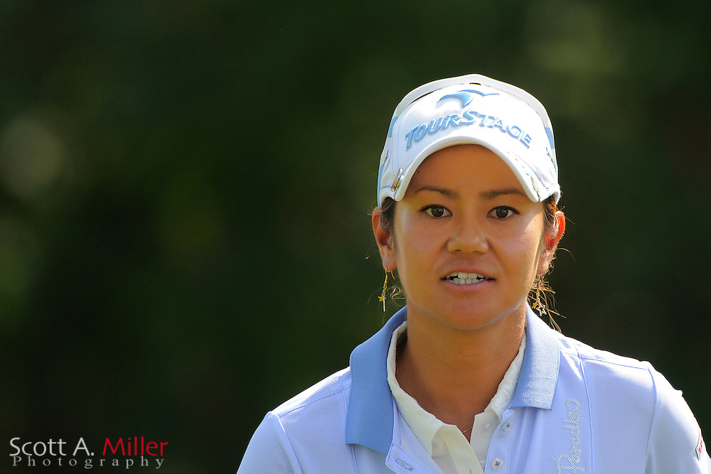 Ai Miyazato during the first round of the US Women's Open at Blackwolf Run on July 5, 2012 in Kohler, Wisconsin. ..©2012 Scott A. Miller
