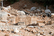 The Temple of Pan and the Dancing Goats Caesarea Philippi, 220 CE. Hermon Stream Nature reserve and Archaeological Park (Banias) Golan Heights Israel