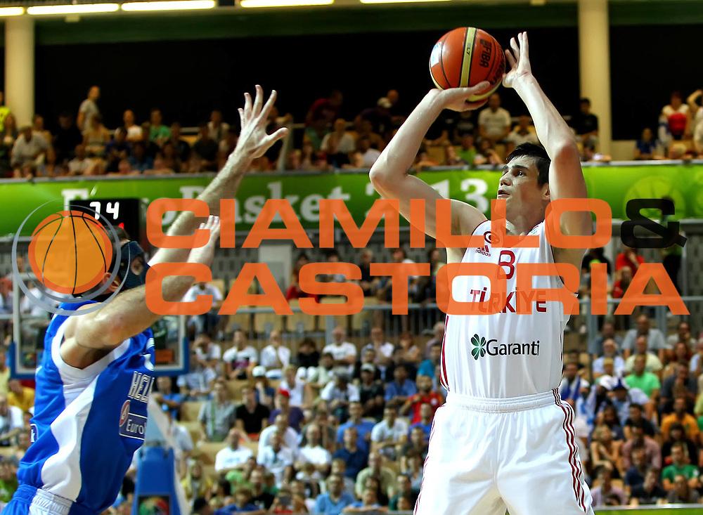 DESCRIZIONE : Koper Slovenia Eurobasket Men 2013 Preliminary Round Grecia Turchia Greece Turkey<br /> GIOCATORE : Ersan Ilyasova<br /> CATEGORIA : tiro shot<br /> SQUADRA : Turchia Turkey<br /> EVENTO : Eurobasket Men 2013<br /> GARA : Grecia Turchia Greece Turkey<br /> DATA : 07/09/2013 <br /> SPORT : Pallacanestro <br /> AUTORE : Agenzia Ciamillo-Castoria/ElioCastoria<br /> Galleria : Eurobasket Men 2013<br /> Fotonotizia : Koper Slovenia Eurobasket Men 2013 Preliminary Round Grecia Turchia Greece Turkey<br /> Predefinita :