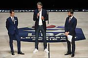 Federico Zurleni, Riccardo Pittis<br /> Presentazione Campionato Lega Basket 2016-2017<br /> Basket Serie A  2016<br /> Milano 26/09/2016<br /> Foto Ciamillo-Castoria