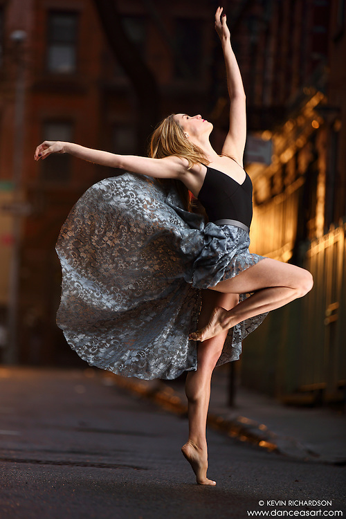 Dance As Art Streets of New York West Village Series with dancer Erin Dowd