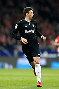 Sevilla's French defender Clement Lenglet runs during the Spanish Cup, Copa del Rey quarter final, 1st leg football match between Atletico Madrid and Sevilla FC on January 17, 2018 at Wanda Metropolitano stadium in Madrid, Spain - Photo Benjamin Cremel / ProSportsImages / DPPI