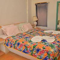 Habitacion de la Posada Tortuga Lodge en la Playa Miami en el Parque Nacional Laguna de Tacarigua. Edo. Miranda, Venezuela. Tacarigua, 21 de Mayo del 2012. Jimmy Villalta