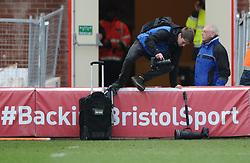 - Photo mandatory by-line: Joe Meredith/JMP - Mobile: 07966 386802 - 15/02/2015 - SPORT - Rugby - Bristol - Ashton Gate - Bristol Rugby v Moseley - Greene King IPA Championship