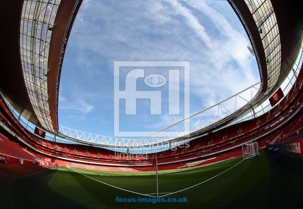 Picture by John  Rainford/Focus Images Ltd +44 7506 538356.15/09/2012.General view of the interior of the Emirates Stadium, London.