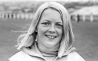 Shauna Kyle, Ballymena, N Ireland, athlete, 200m, 400m, daughter of Maeve Kyle, herself an athlete and currently a sports administrator. August 1969. 196908000212b<br />