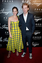 August 16, 2018 - New York, New York, U.S. - Ruth Wilson and Domhnall Gleeson at the 'The Little Stranger' film premiere on August 16, 2018 in New York City. (Credit Image: © Kristin Callahan/Ace Pictures via ZUMA Press)