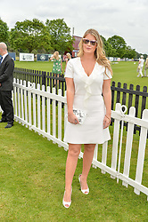 LADY KITTY SPENCER at the Cartier Queen's Cup Final 2016 held at Guards Polo Club, Smiths Lawn, Windsor Great Park, Egham, Surry on 11th June 2016.