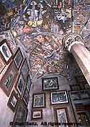 Ceiling Tile Works, Fonthill, Historic Henry Mercer home, Doylestown, Buck Co., PA