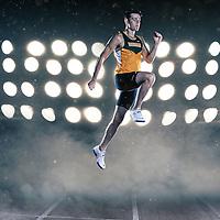 Hayden Schutz, jumper with the Regina Cougars.