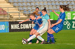 Spela Rozmaric of Slovenia during women football match between National teams of Slovenia and Iceland in 2019 FIFA Women's World Cup qualification, on April 06, 2018 in Sportni park Lendava, Lendava, Slovenia. Photo by Mario Horvat / Sportida