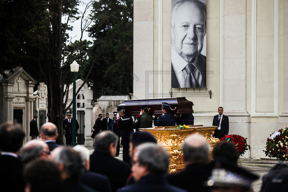 January 6, 2017. Lisbon - Portugal.<br /> Funeral ceremony of Mario Soares. Ex-president of the republic of Portugal.