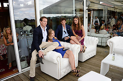 at the Audi International Polo at Guards Polo Windsor Great Park, Egham, Surrey on 28th July 2013.