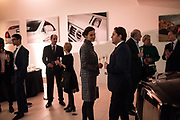 Hubert de Vinols hosts the launch of Tables D'Exception, Rolls Royce Showroom,  Berkeley Sq. London. 29 November 2018