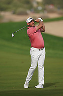 Lee Westwood (ENG) in action during the second round of the Omega Dubai Desert Classic, Emirates Golf Club, Dubai, UAE. 25/01/2019<br /> Picture: Golffile | Phil Inglis<br /> <br /> <br /> All photo usage must carry mandatory copyright credit (© Golffile | Phil Inglis)