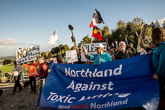 Northland-Mining protest against Australian Mining Co, Puhipuhi