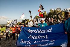 Northland-Mining protest against Australian Mining Co, Puhipuhi