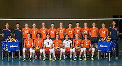 07-06-2016 NED: Jeugd Oranje jongens <1999, Arnhem<br /> Photoshoot met de jongens uit jeugd Oranje die na 1 januari 1999 geboren zijn / Teamfoto selectie 2016