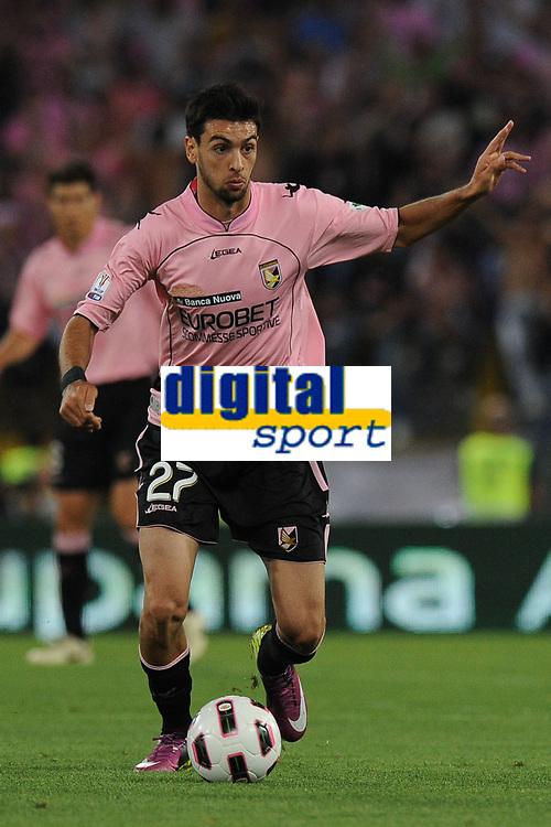 Javier Pastore (Palermo)<br /> Inter vs Palermo<br /> Tim Cup, finale di Coppa Italia di calcio<br /> Stadio Olimpico, Roma, 29/05/2011<br /> Photo Antonietta Baldassarre Insidefoto