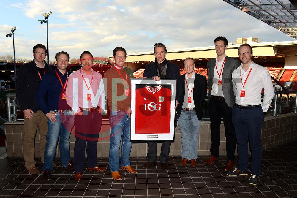 Sponsor - Mandatory by-line: Dougie Allward/JMP - 05/04/2016 - FOOTBALL - Ashton Gate Stadium - Bristol, England - Bristol City v Rotherham United - Sky Bet Championship