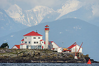 Entrance Island Lighthouse, Entrance Island, Gabriola Island , British Columbia, Canada