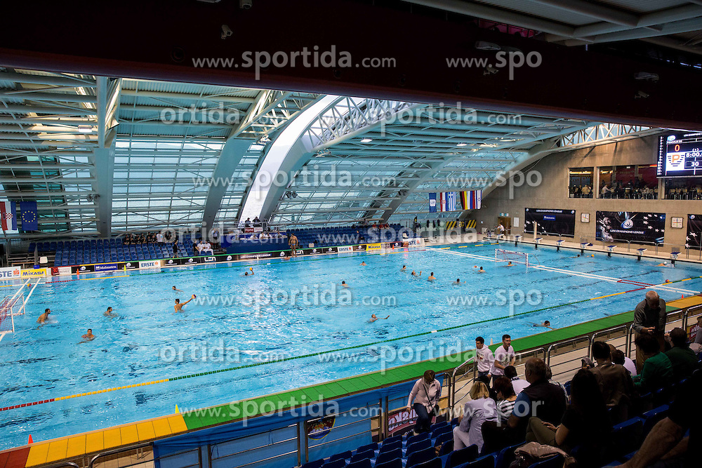 Warming up prior to the water polo match between Primorje Erste Bank (CRO) and Olympiacos Piraeus (GRE) in 8th Round of Champions League 2016, on April 16, 2016 in Kantrida pool, Rijeka, Croatia. Photo by Vid Ponikvar / Sportida