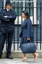© Licensed to London News Pictures. 14/03/2017. London, UK. International Development Secretary PRITI PATEL attends a cabinet meeting in Downing Street, London on Tuesday, 14 March 2017. Photo credit: Tolga Akmen/LNP
