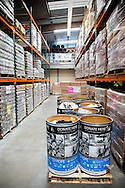 Myriad donation barrels distributed throughout the county come to the Watsonville warehouse for sorting and distribution