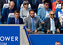 LEICESTER, ENGLAND - Saturday, September 1, 2018: England manager Gareth Southgate during the FA Premier League match between Leicester City and Liverpool at the King Power Stadium. (Pic by David Rawcliffe/Propaganda)