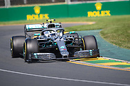 ALBERT PARK, VIC - MARCH 15: Mercedes-AMG Petronas Motorsport driver Valtteri Bottas (77) at The Australian Formula One Grand Prix on March 15, 2019, at The Melbourne Grand Prix Circuit in Albert Park, Australia. (Photo by Speed Media/Icon Sportswire)