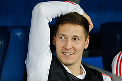 June 19, 2018 - Saint Petersburg, Russia - Daler Kuziaev of Russia national team during the 2018 FIFA World Cup Russia group A match between Russia and Egypt on June 19, 2018 at Saint Petersburg Stadium in Saint Petersburg, Russia. (Credit Image: © Mike Kireev/NurPhoto via ZUMA Press)