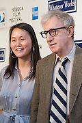 "Woody Allen and wife, Soon-Yi Previn. Woody Allen's new movie ""Whatever Works"" premiered April 22, 2009 at the Tribeca Film Festival - Ziegfeld Theatre, New York."