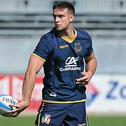Calvisano 24/05/2018 <br /> Allenamento nazionale italiana di rugby<br /> Edoardo Padovani
