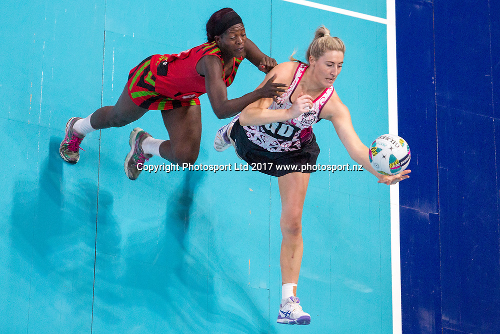 Zoe Walker during the Fast5 Netball world series match between New Zealand Silver Ferns and Malawi at Hisense Arena Melbourne Australia. Sunday 29th October 2017. Copyright Photo. Brendon Ratnayake / www.photosport.nz