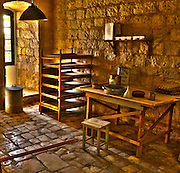 Museum of Underground Prisoners is a museum in Jerusalem, Israel, commemorating the activity of the Jewish underground - Haganah, Irgun and Lehi - during the period leading up the establishment of the State of Israel.
