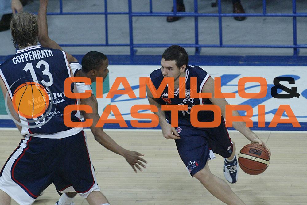 DESCRIZIONE : Bologna Lega A1 2006-07 Climamio Fortitudo Bologna Angelico Biella <br /> GIOCATORE : Porta <br /> SQUADRA : Angelico Biella <br /> EVENTO : Campionato Lega A1 2006-2007 <br /> GARA : Climamio Fortitudo Bologna Angelico Biella <br /> DATA : 25/02/2007 <br /> CATEGORIA : Penetrazione <br /> SPORT : Pallacanestro <br /> AUTORE : Agenzia Ciamillo-Castoria/M.Minarelli