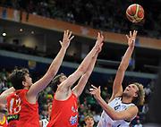 DESCRIZIONE : Vilnius Lithuania Lituania Eurobasket Men 2011 Second Round Germania Spagna Germany Spain<br /> GIOCATORE : Dirk Nowitzki<br /> SQUADRA : Germania Germany<br /> EVENTO : Eurobasket Men 2011<br /> GARA : Germania Spagna Germany Spain<br /> DATA : 07/09/2011 <br /> CATEGORIA : tiro shot<br /> SPORT : Pallacanestro <br /> AUTORE : Agenzia Ciamillo-Castoria/T.Wiendesohler<br /> Galleria : Eurobasket Men 2011 <br /> Fotonotizia : Vilnius Lithuania Lituania Eurobasket Men 2011 Second Round Germania Spagna Germany Spain<br /> Predefinita :