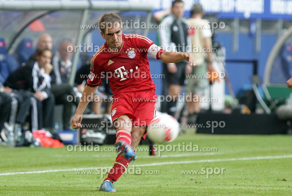 Football: Germany, Liga Total Cup, FC Bayern Muenchen, Hamburg, 04.08.2012.Philipp LAHM.©Êpixathlon