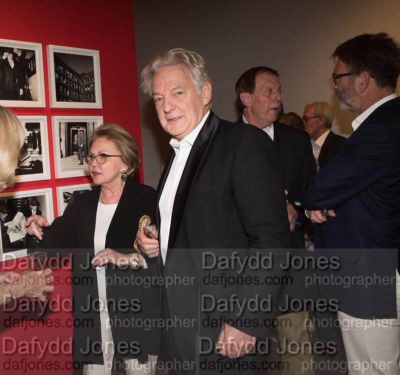 DIANA DONOVAN; LIZ FALLON; IVAN FALLON, Preview of Terence Donovan: Speed of Light, Photographers Gallery, Ramillies Place, Thursday 14 July 2016,