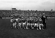 26/04/1964<br /> 04/26/1964<br /> 26 April 1964<br /> National Hurling League Semi-Final: Cork v Wexford at Croke Park, Dublin.<br /> Cork team.