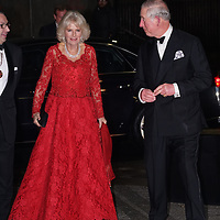Prince Charles and Camilla attend the Royal Variety Performance 2016