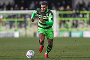 Forest Green Rovers Dan Wishart(17) runs forward during the EFL Sky Bet League 2 match between Forest Green Rovers and Notts County at the New Lawn, Forest Green, United Kingdom on 10 March 2018. Picture by Shane Healey.