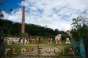 Ponte Nova_MG, Brasil...Usina Anna Florencia, grande produtora de acucar no seculo XVIII...Abandoned sugar factory Anna Florencia, major producer of sugar in the XVIII century...Foto: BRUNO MAGALHAES / NITRO