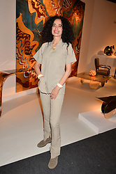 Danielle Moudaber at the 2017 PAD Collector's Preview, Berkeley Square, London, England. 02 October 2017.