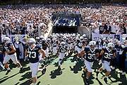 Sept 19, 2009; State College, PA, USA; The Penn State Nittany Lions take the field prior to the game against Temple at Beaver Stadium.  Mandatory Credit: Jason Miller-US PRESSWIRE