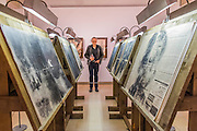 The Reading Room - Peter Kennard: Unofficial War Artist - Retrospective Exhibition of British Political and anti-war artist at IWM London, UK 12 May 2015