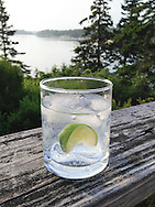 Gin and Tonic, Vinalhaven, Maine.