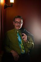 Headshot session with Rodney Martel.  ©2017 Karen Bobotas Photographer