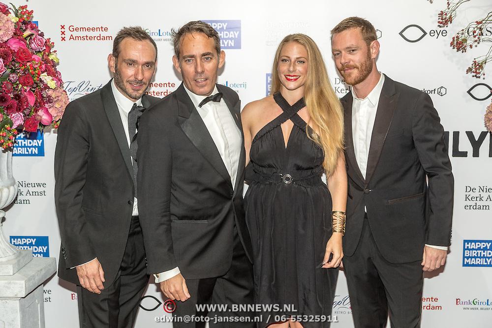 NLD/Amsterdam/20160929 - VIP opening 90 Jaar Marilyn, oa Marcia Sondeijker