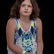 Makayla Branham, Monacan.  Portraits at the Monacan Powwow.  Elon, VA.  Saturday, May 16, 2015.  John Boal Photography